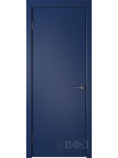 Межкомнатная дверь ВФД Ньюта 59ДГ09 (Синяя эмаль)