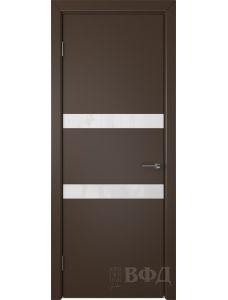 ВФД Ньюта 59ДО05 (Шоколадная эмаль - Стекло белое)