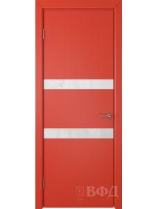 ВФД Ньюта 59ДО07 (Красная эмаль - Стекло белое)