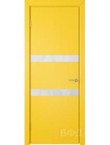 ВФД Ньюта 59ДО08 (Желтая эмаль - Стекло белое)
