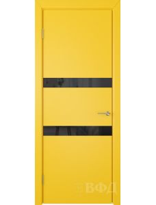 ВФД Ньюта 59ДО08 (Желтая эмаль - Стекло черное)
