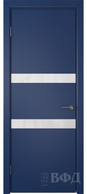 ВФД Ньюта 59ДО09 (Синяя эмаль - Стекло белое)