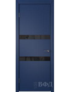 ВФД Ньюта 59ДО09 (Синяя эмаль - Стекло черное)