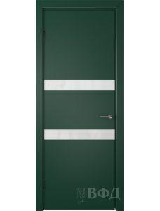 ВФД Ньюта 59ДО10 (Зеленая эмаль - Стекло белое)