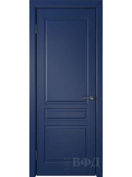 Межкомнатная дверь ВФД Стокгольм 56ДГ09 (Синяя эмаль)