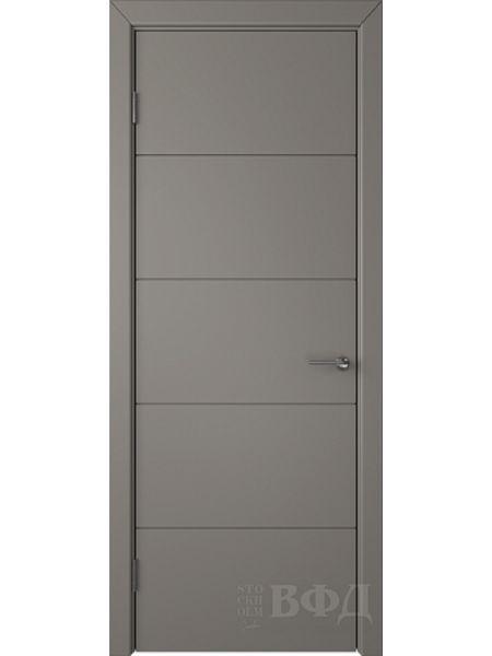 Межкомнатная дверь ВФД Тривиа 50ДГ03 (Темно-серая эмаль)