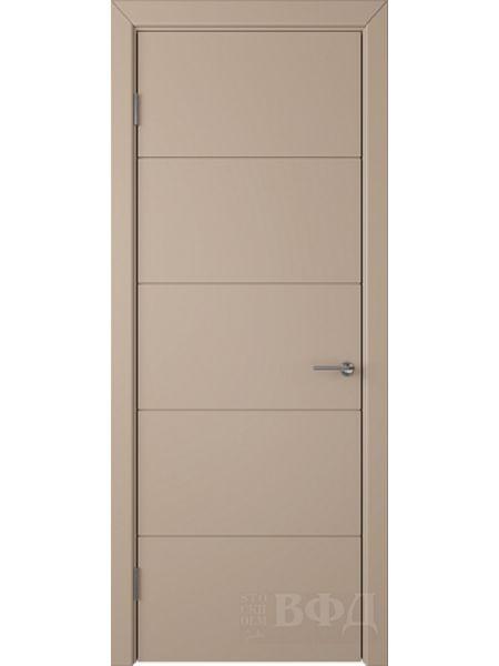 Межкомнатная дверь ВФД Тривиа 50ДГ04 (Латте эмаль)