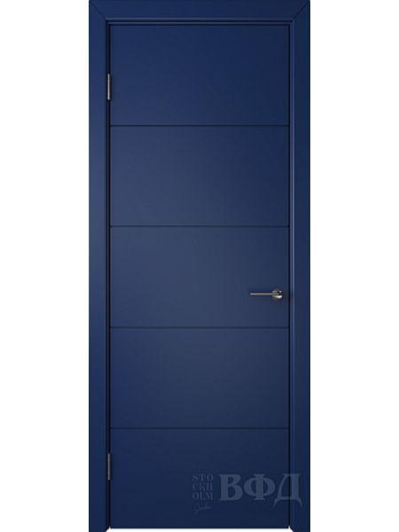 Межкомнатная дверь ВФД Тривиа 50ДГ09 (Синяя эмаль)