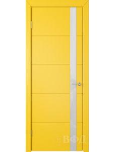 ВФД Тривиа 50ДО08 (Желтая эмаль - Стекло белое)