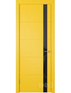 ВФД Тривиа 50ДО08 (Желтая эмаль - Стекло черное)