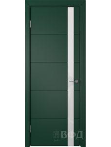 ВФД Тривиа 50ДО10 (Зеленая эмаль - Стекло белое)