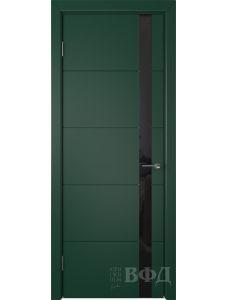 ВФД Тривиа 50ДО10 (Зеленая эмаль - Стекло черное)