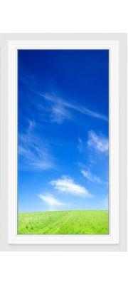 Окно ПВХ 900х1400 мм (Одностворчатое, глухое, 5-ти камерное)