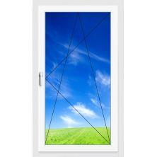 Окно ПВХ 900х1400 мм (Одностворчатое, поворотно-откидное, 5-ти камерное)