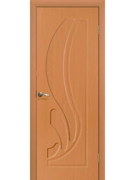Межкомнатная дверь ПГ Лилия (Миланский орех)