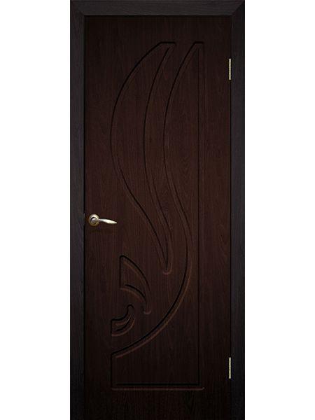 Межкомнатная дверь ПГ Лилия (Венге)