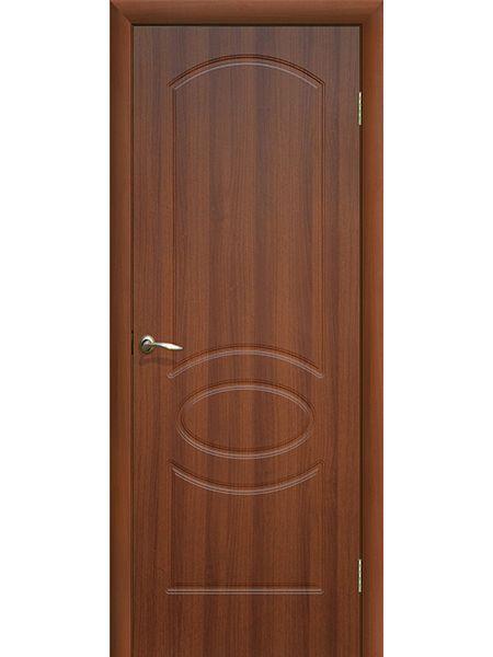 Межкомнатная дверь ПГ Неаполь (Итальянский орех)