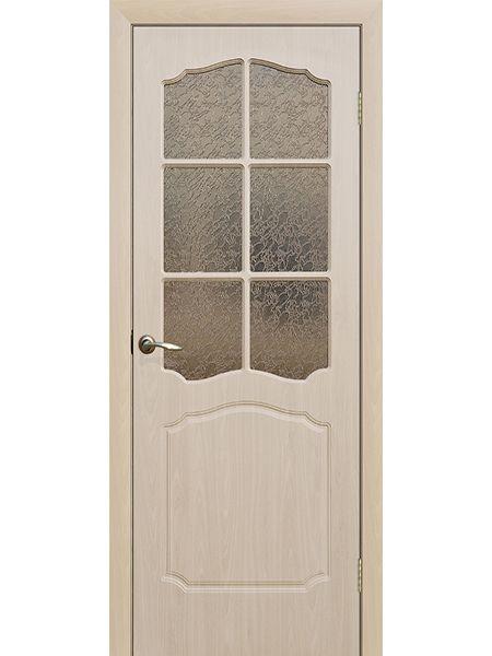 Межкомнатная дверь ПО Классика (Беленый дуб)