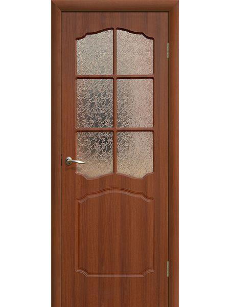 Межкомнатная дверь ПО Классика (Итальянский орех)