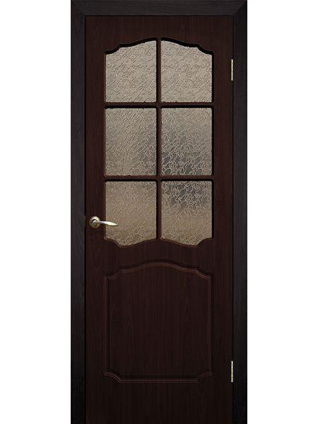 Межкомнатная дверь ПО Классика (Венге)
