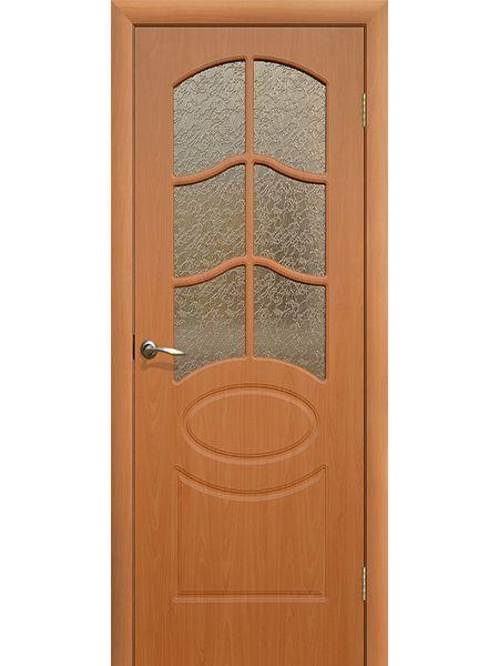 Межкомнатная дверь ПО Неаполь (Миланский орех)