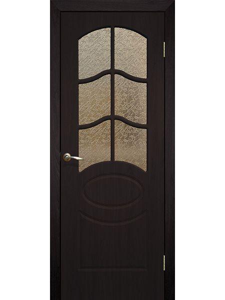 Межкомнатная дверь ПО Неаполь (Венге)