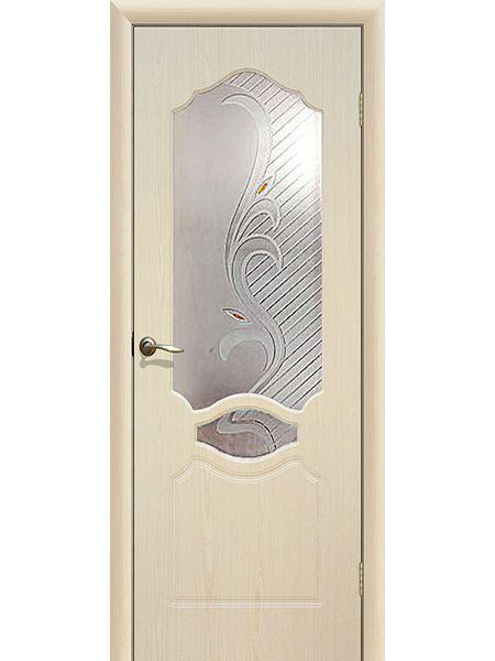 Межкомнатная дверь ПО Венеция (Беленый дуб)