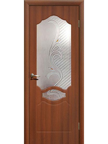 Межкомнатная дверь ПО Венеция (Итальянский орех)