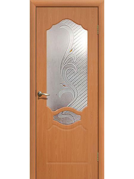 Межкомнатная дверь ПО Венеция (Миланский орех)