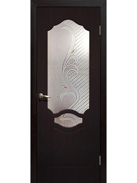 Межкомнатная дверь ПО Венеция (Венге)
