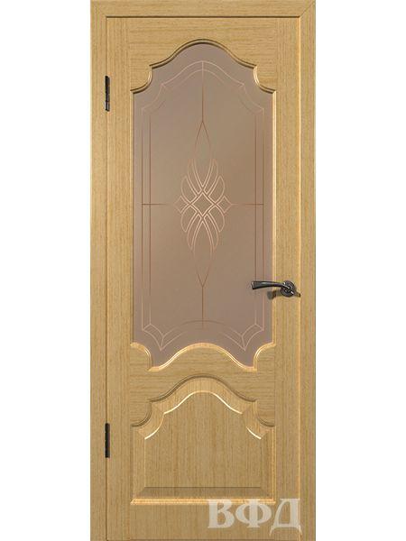 Межкомнатная дверь ВФД Венеция 11ДО1 (Светлый дуб)