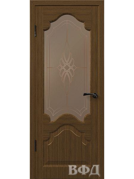 Межкомнатная дверь ВФД Венеция 11ДО3 (Орех)
