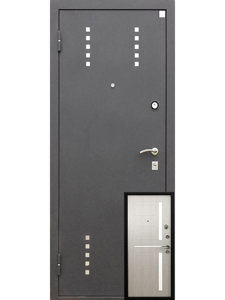 Входная дверь Алмаз Талисман (Капучино)