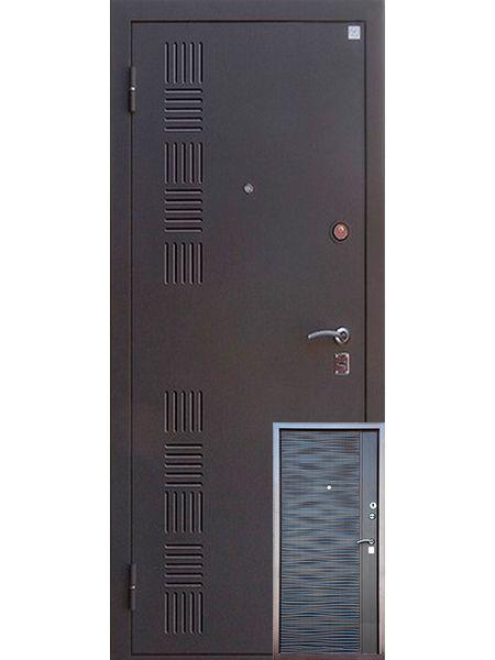 Входная дверь Алмаз Топаз 2 (Шиншилла)