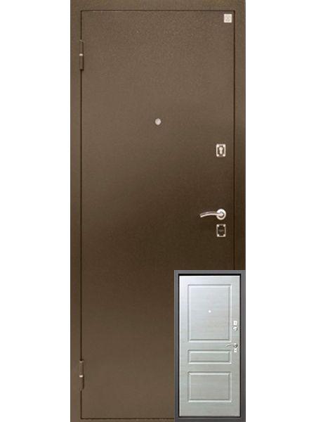 Входная дверь Алмаз Турмалин (Капучино)
