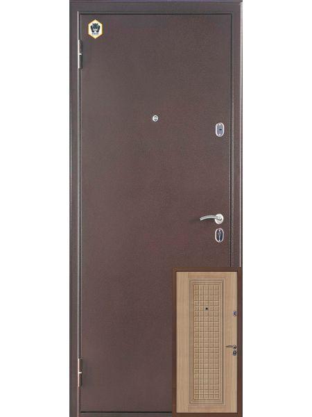 Входная дверь Бульдорс 12с (Венге светлый)