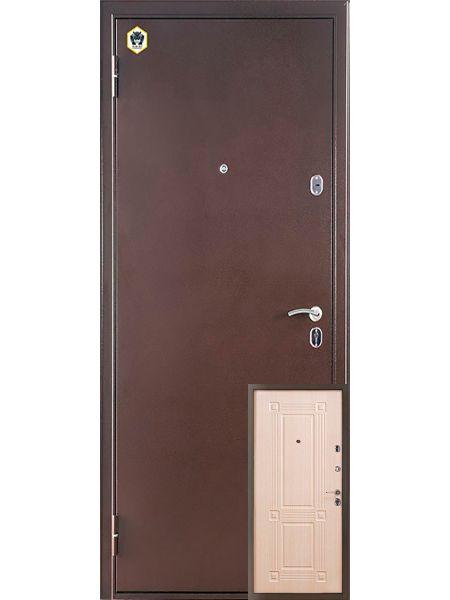 Входная дверь Бульдорс 14 NEW (Шамбори светлая)