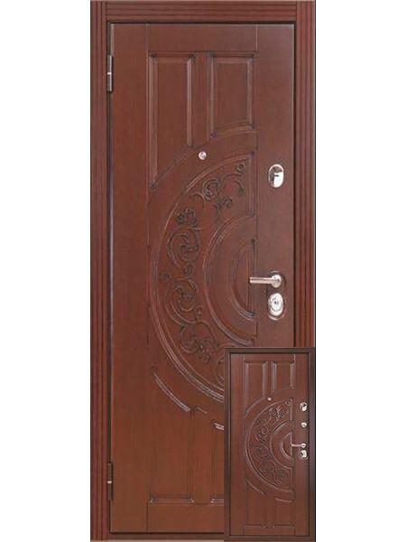 Входная дверь Бульдорс LUX 25 (Черное дерево)