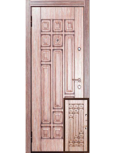 Входная дверь Бульдорс LUX 25 (Дуб дымчатый)