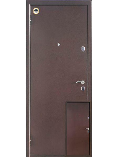 Входная дверь Бульдорс Steel 12 (Металл/металл)