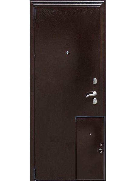 Входная дверь Guardian Фактор металл/металл