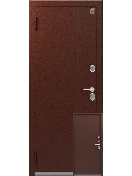 Входная дверь Легион T-3 (Медь - Медь)