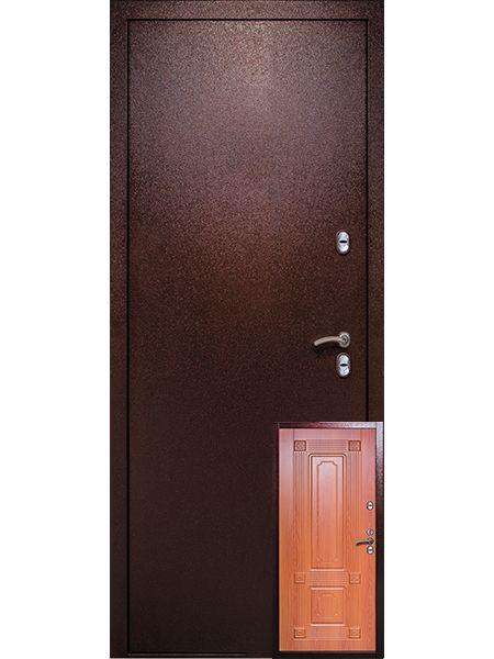 Входная дверь Легионер 3К Тепло (Миланский орех)