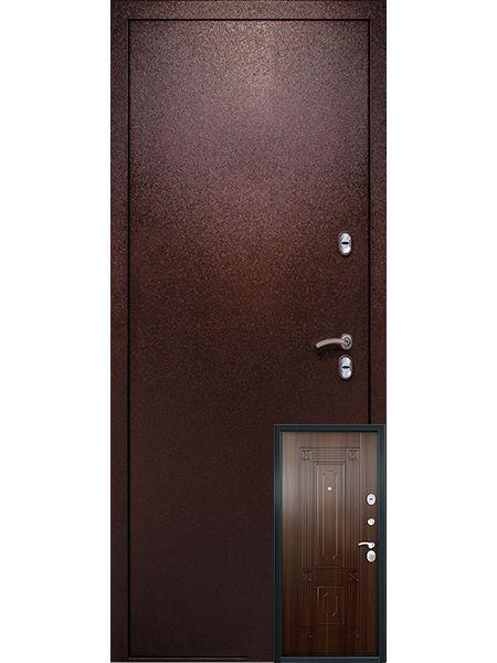 Входная дверь Легионер 3К Тепло (Старое дерево)