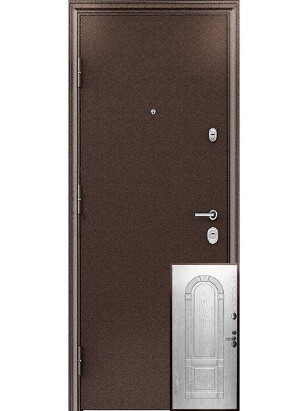 Входная дверь Легионер GARDA 3К 3D (Беленый дуб)