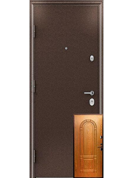 Входная дверь Легионер GARDA 3К 3D (Миланский орех)