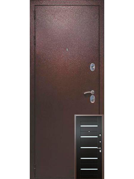 Входная дверь Легионер KVADRA 3К Techno (Венге)