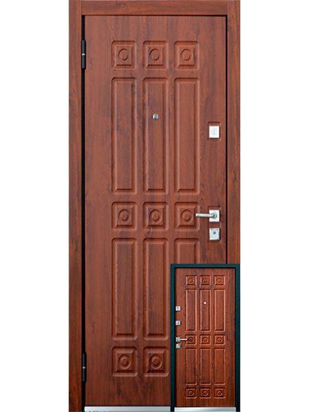 Входная дверь Mastino Novara (Орех грецкий)