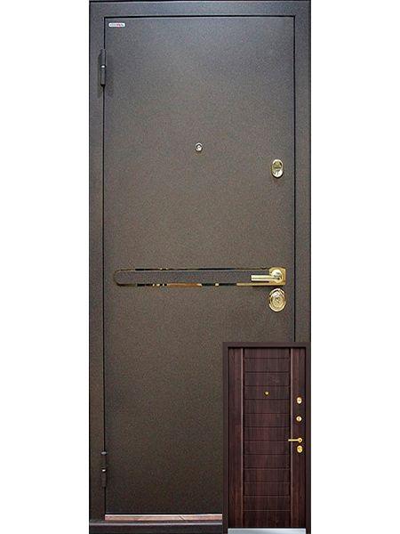Входная дверь Mastino Strada (Дуб мореный)