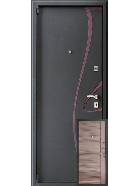 Входная дверь Монарх М-04 Нова (Бронза)